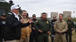 Trump à la frontière avec le Mexique: