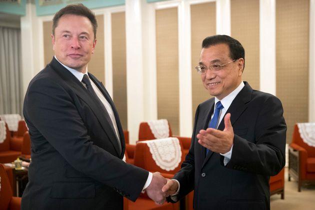 중국 정부가 8조원 투자한 일론 머스크에게 약속한 선물의