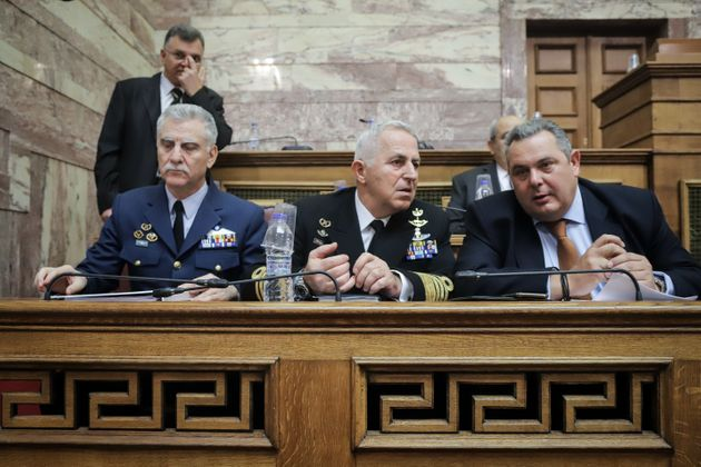 Oι Επιτροπές συνεδρίασαν παρουσία της ηγεσίας των Ενόπλων Δυνάμεων.
