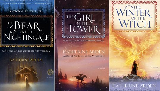 Katherine Arden's 'Winternight Trilogy' Is A Heady Mix Of Politics, Spirits & Wars In Old