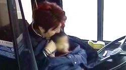 Bus Driver Rescues Baby Wandering The