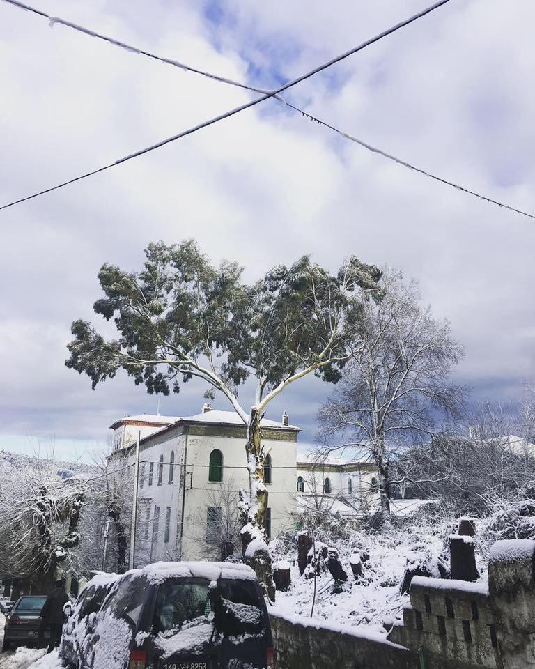 Ain Drahem sous la neige (Photos,