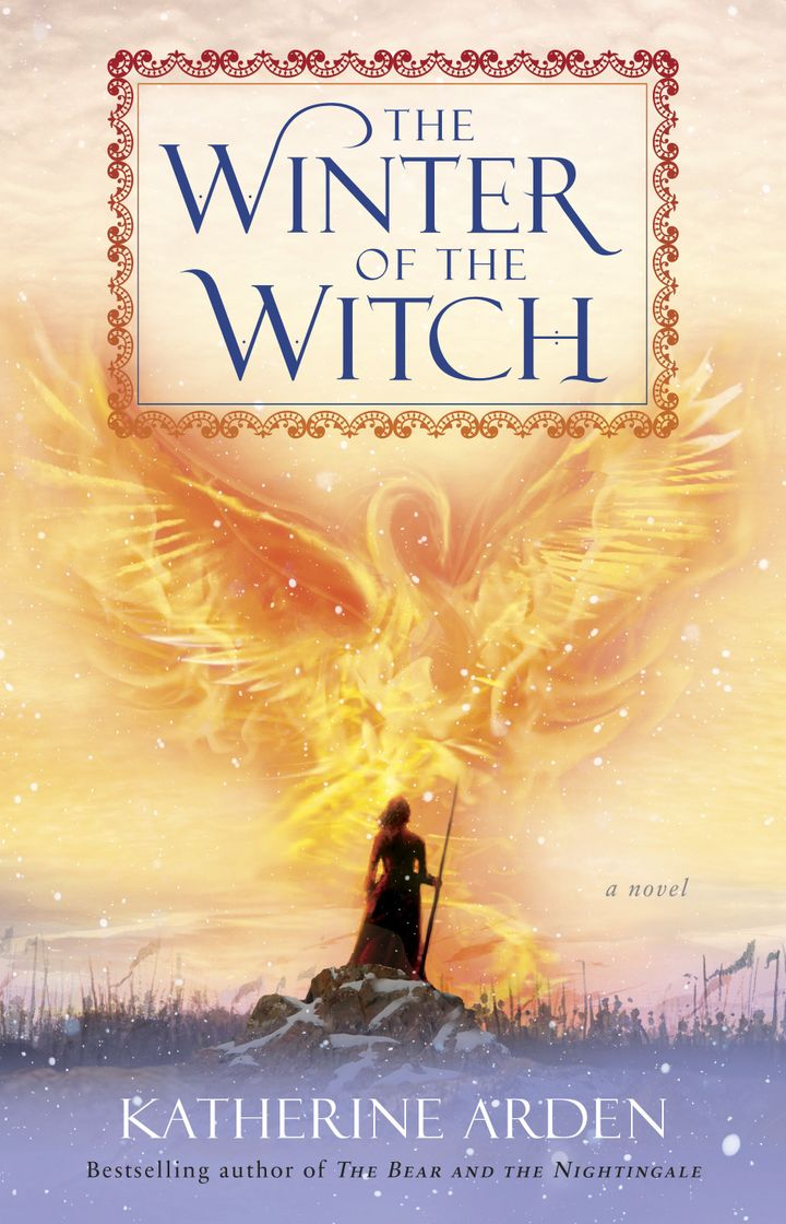 <i>The Winter of the Witch</i>, third in the Winternight Trilogy.