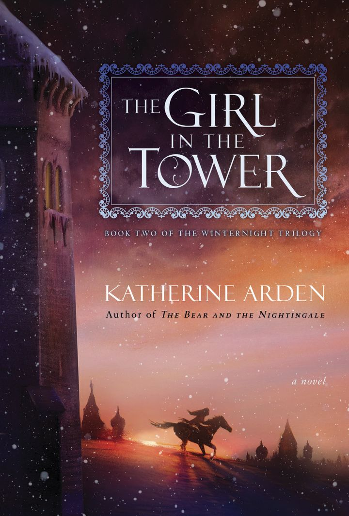 The Girl in the Tower, the first book in the trilogy.
