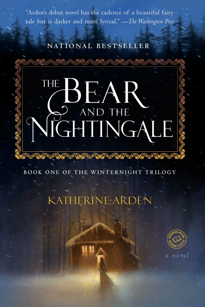 The Bear and The Nightingale, the first book in the trilogy.