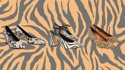 11 Animal Print Shoes, Inspired By Meghan Markle's Cow Print