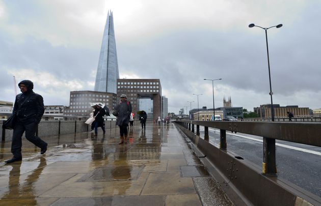 Barriers have been put up on London Bridge following the