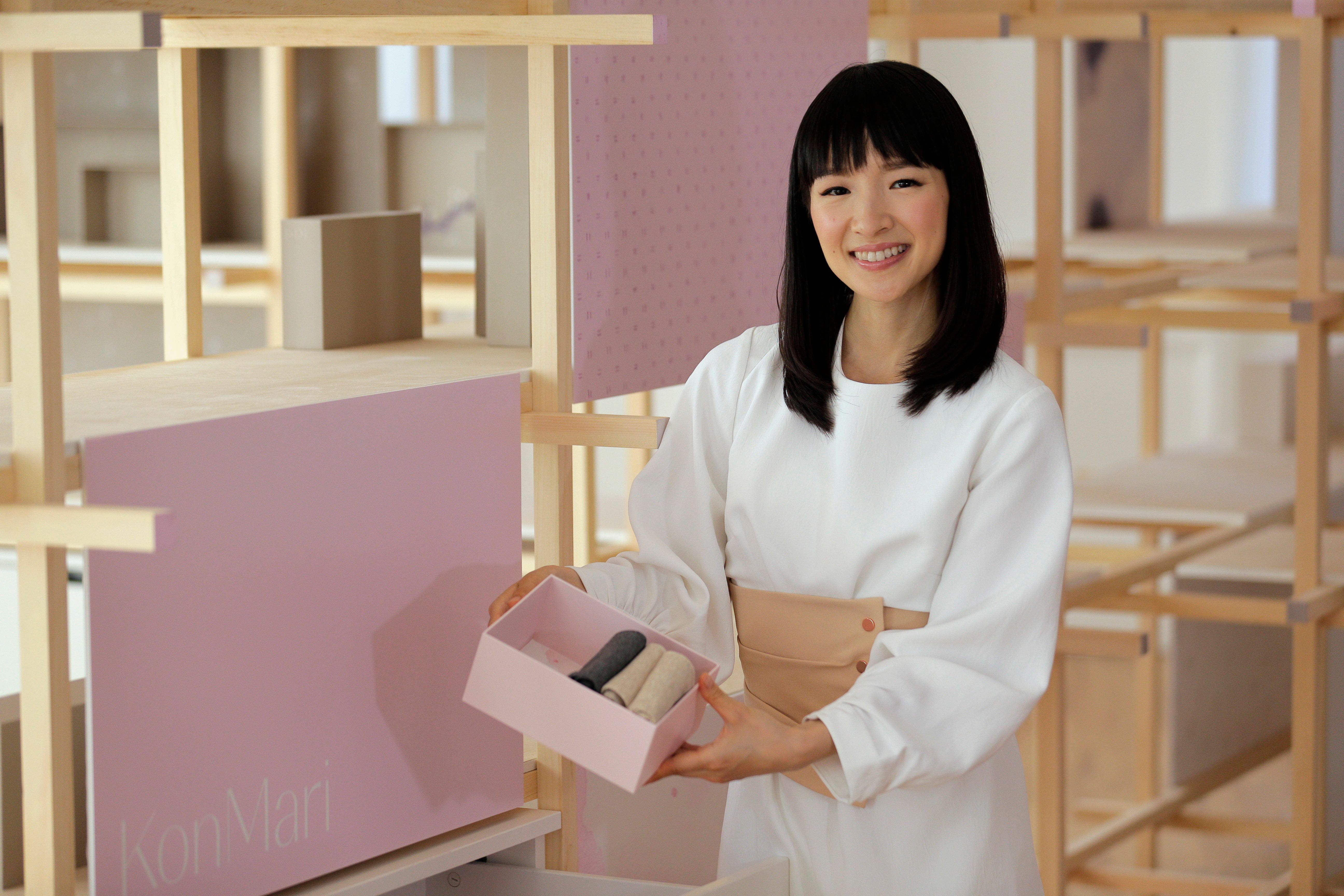 Marie Kondo's first book in the U.S., <i>The Life-Changing Magic of Tidying Up</i>, made The New York Times best seller list.