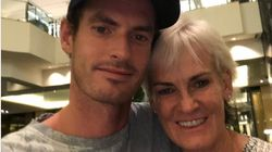 Andy Murray Proves You're Never Too Old To Need A Cuddle From Your