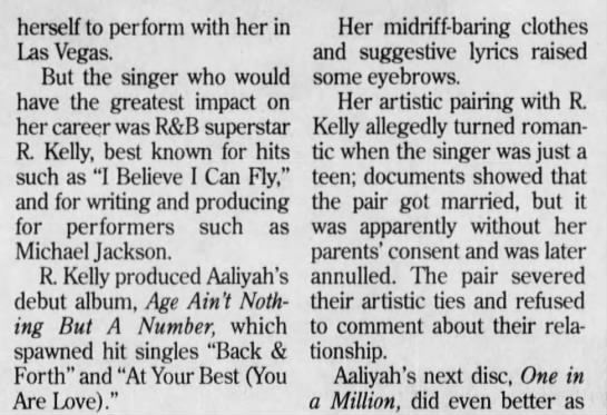 was r kelly married to aaliyah