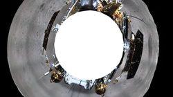 Εικόνες των κινεζικών διαστημικών σκαφών από την αθέατη πλευρά της