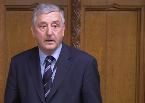 Former Labour minister Jim Fitzpatrick in the