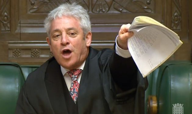 Bercow will announce the results of the meaningful