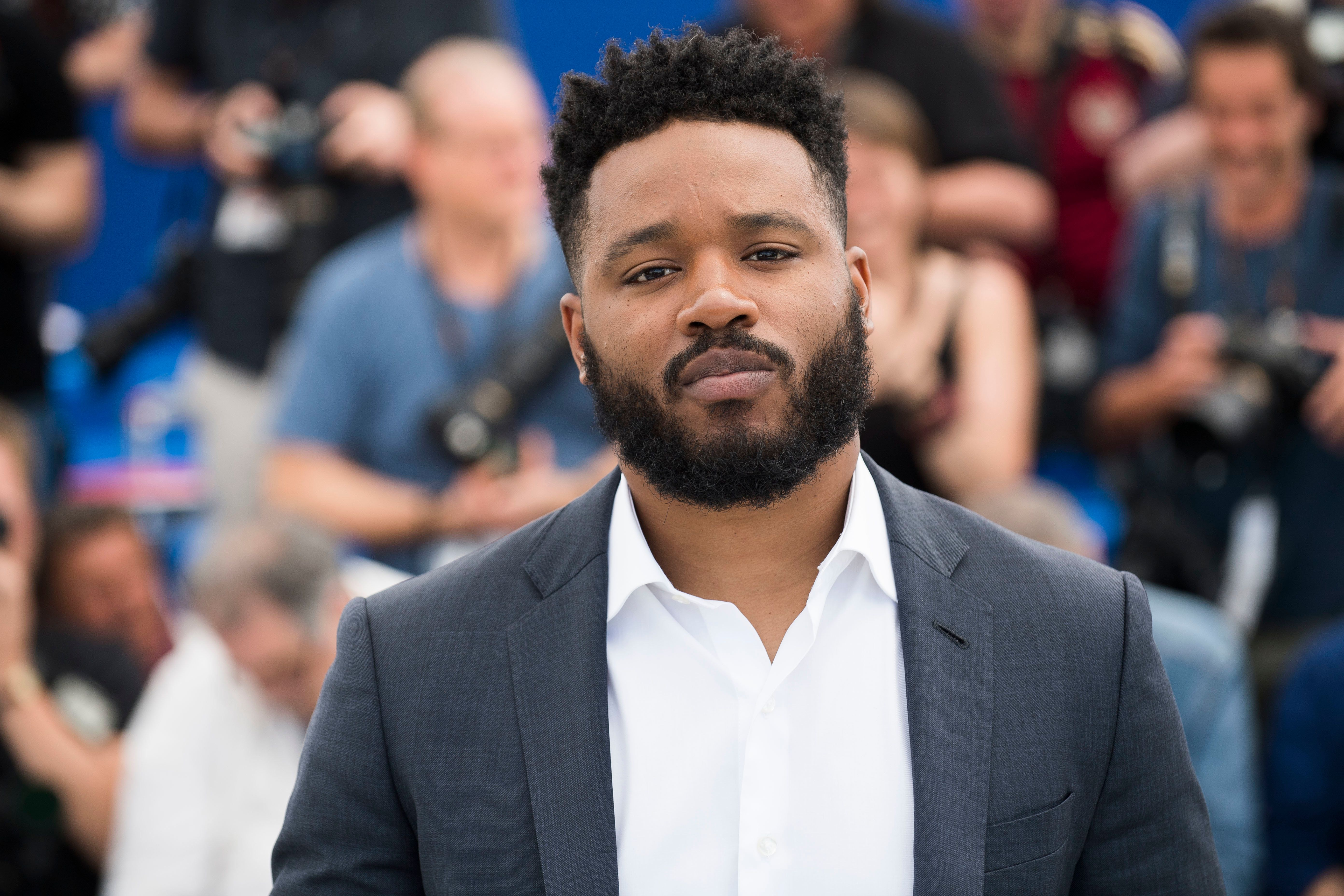 """Black Panther"" director Ryan Coogler at the Cannes Film Festival in May 2018."