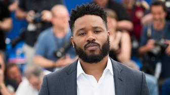 Director Ryan Coogler poses for photographers during a photo call at the 71st international film festival, Cannes, southern France, Thursday, May 10, 2018. (Photo by Arthur Mola/Invision/AP)