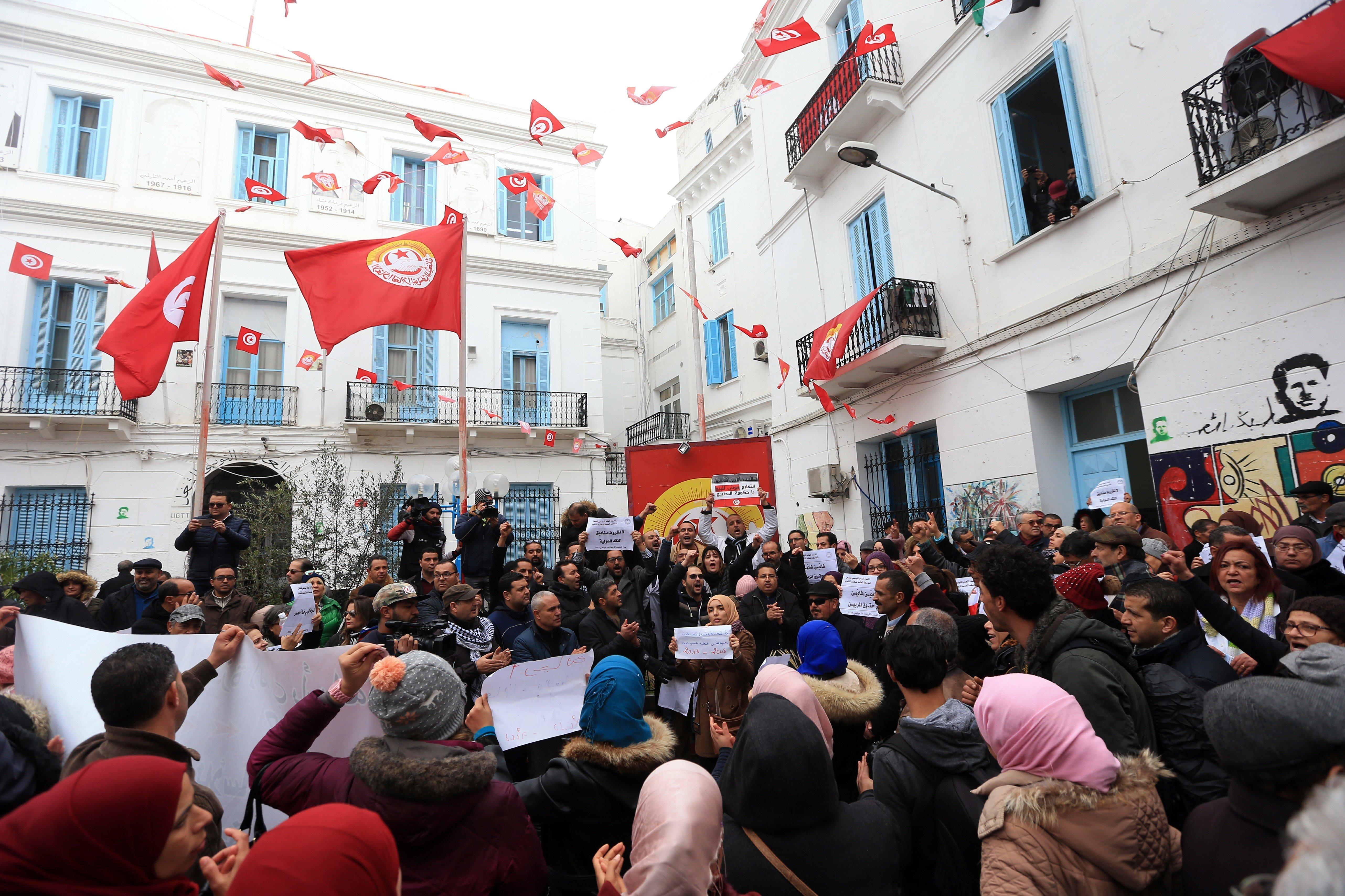 Grève générale: La situation pourrait dégénérer le 17 janvier, selon le secrétaire général-adjoint de