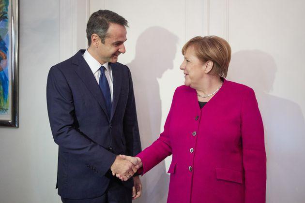 Μέρκελ: Διαφωνούμε με τον Μητσοτάκη για το Σκοπιανό. Μητσοτάκης: Είναι μια κακή