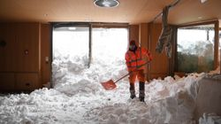 Heavy Snowfall Causes Chaos In Germany And