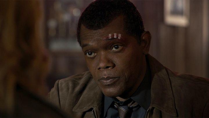 Samuel L. Jackson plays Nick Furyin the Marvel Cinematic Universe.