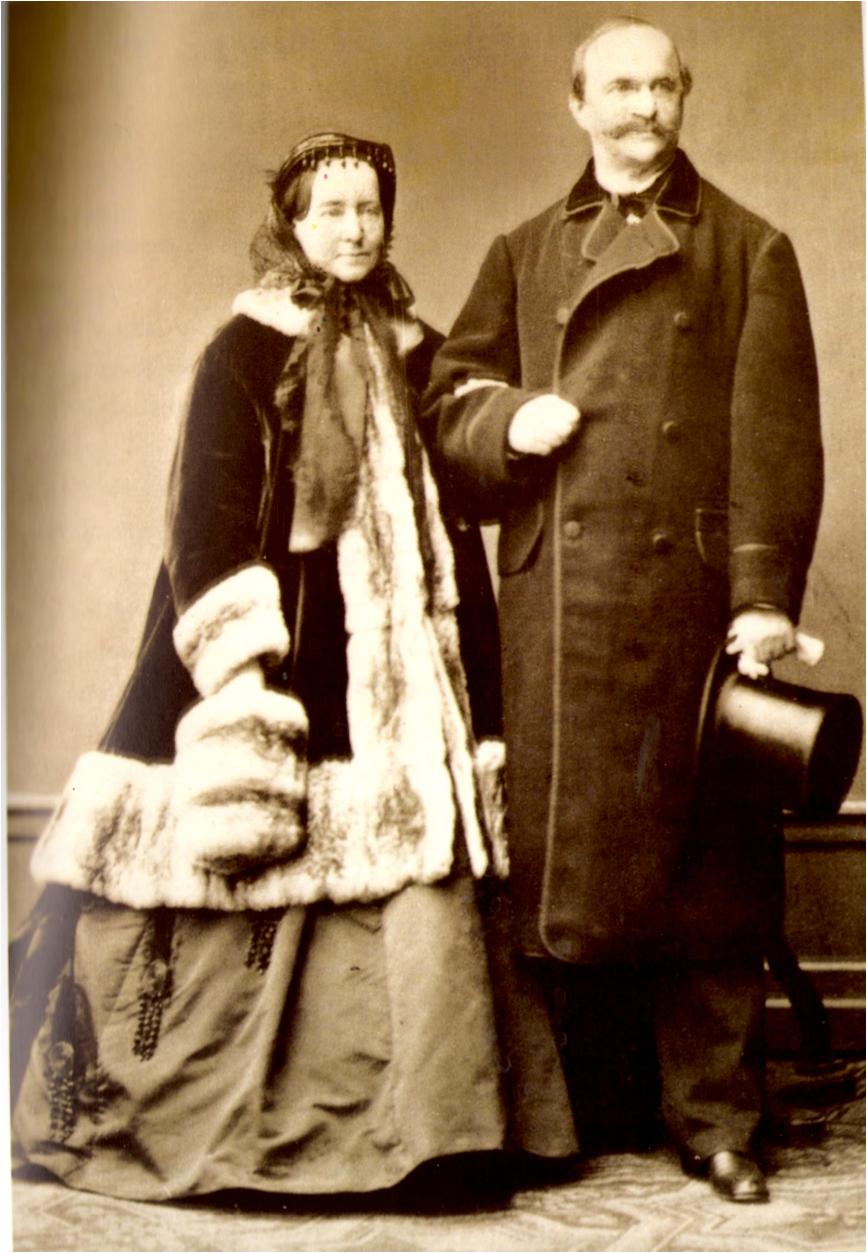 Ο βασιλιάς Όθωνας και η σύζυγός του Αμαλία στο Μόναχο το 1867