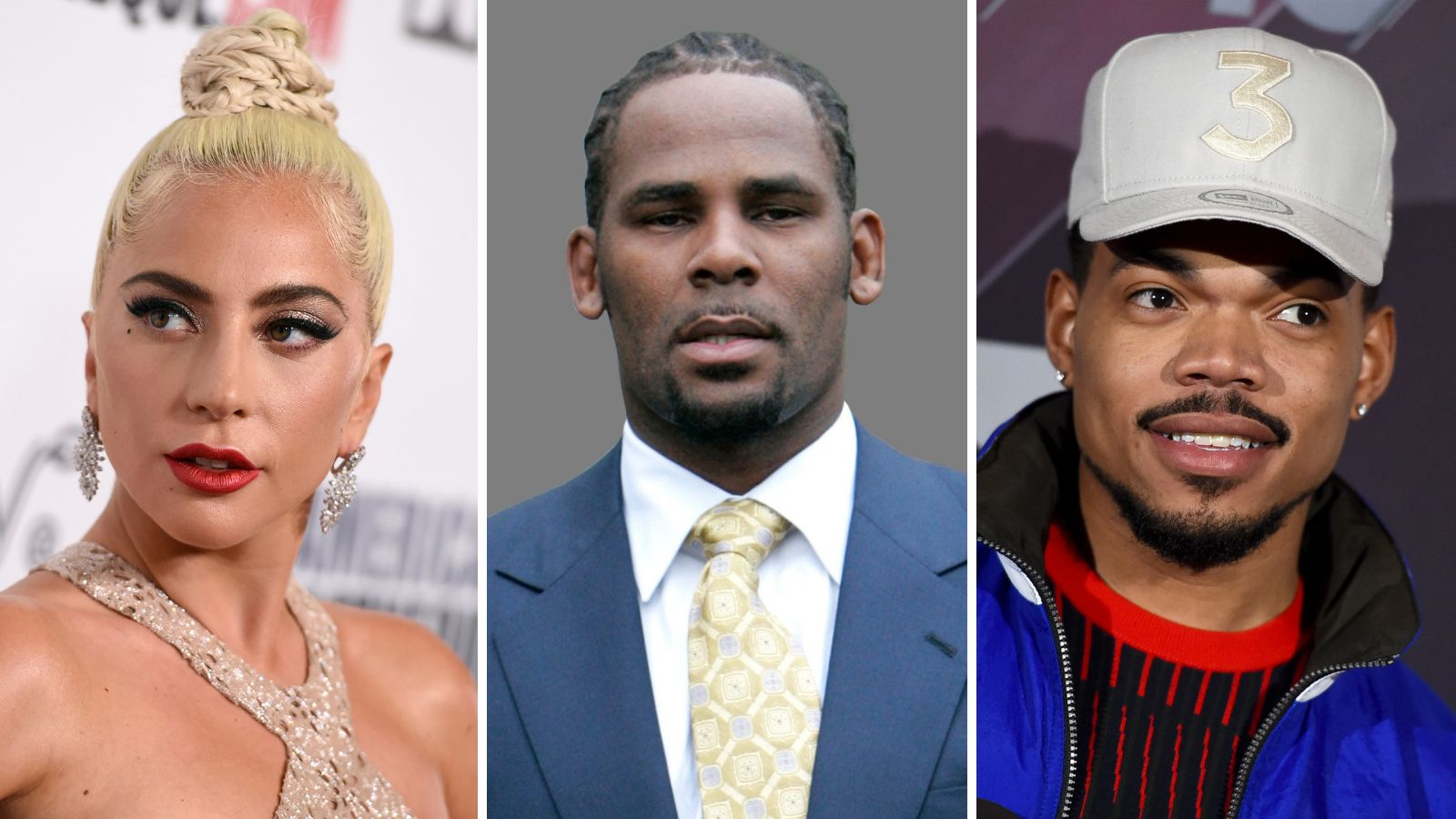 Lady Gaga, R. Kelly, Chance the Rapper