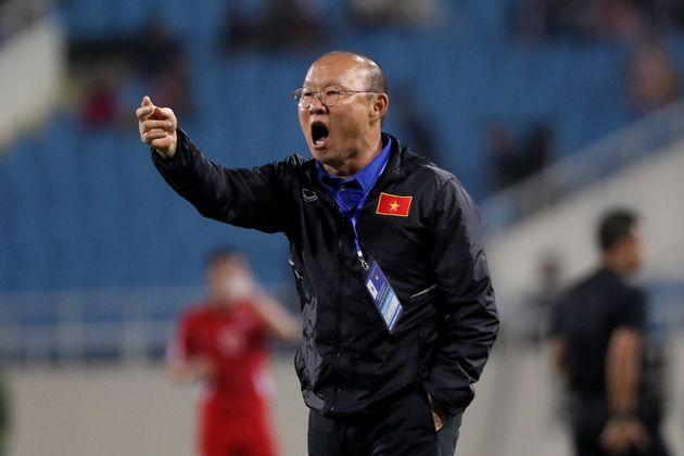이란전을 앞두고 박항서 베트남 국가대표 축구팀 감독이 각오를