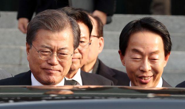 김영삼 아들 김현철이 더불어민주당을
