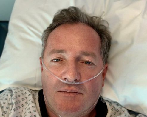 Piers Morgan Jokingly Apologises That He's 'Not Going To Die' After Hospital