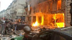 Explosion à Paris: 12 blessés graves dont 5 avec un pronostic vital