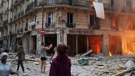 Paris: 4 morts, huit blessés graves et 37 légers suite à une explosion dans une