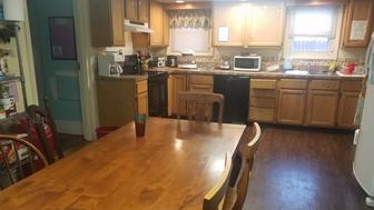 The kitchen of a domestic violence shelter in WV.