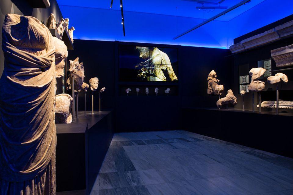 Στο μουσείο της Τεγέας