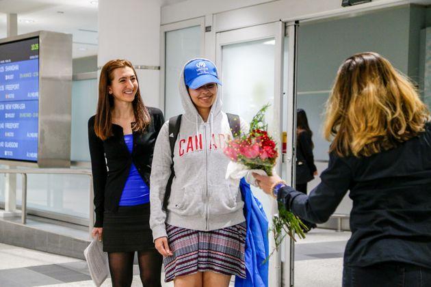 Saudi Teen Rahaf Mohammed al-Qunun Arrives In Canada After