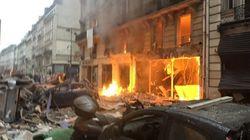Juste après l'explosion rue de Trévise, les images impressionnantes d'un journaliste