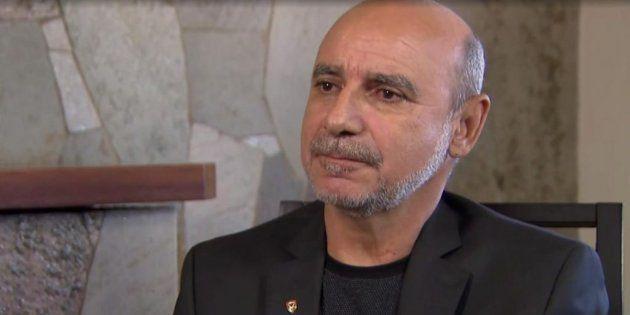 Queiroz, em entrevista ao SBT antes de ser internado no Albert