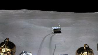 CNSA captures first panorama photo of dark side of the moon.