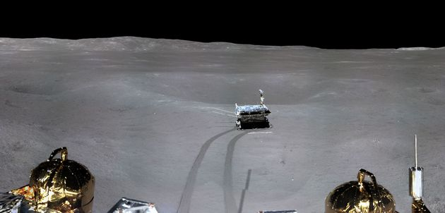 See The First Ever Panoramic Photo Of The Far Side Of The Moon From China's Chang'e