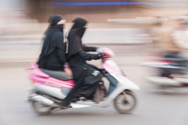 The Burkha-Clad Woman And Her Red Maruti: How My Mother Embraced Freedom Through