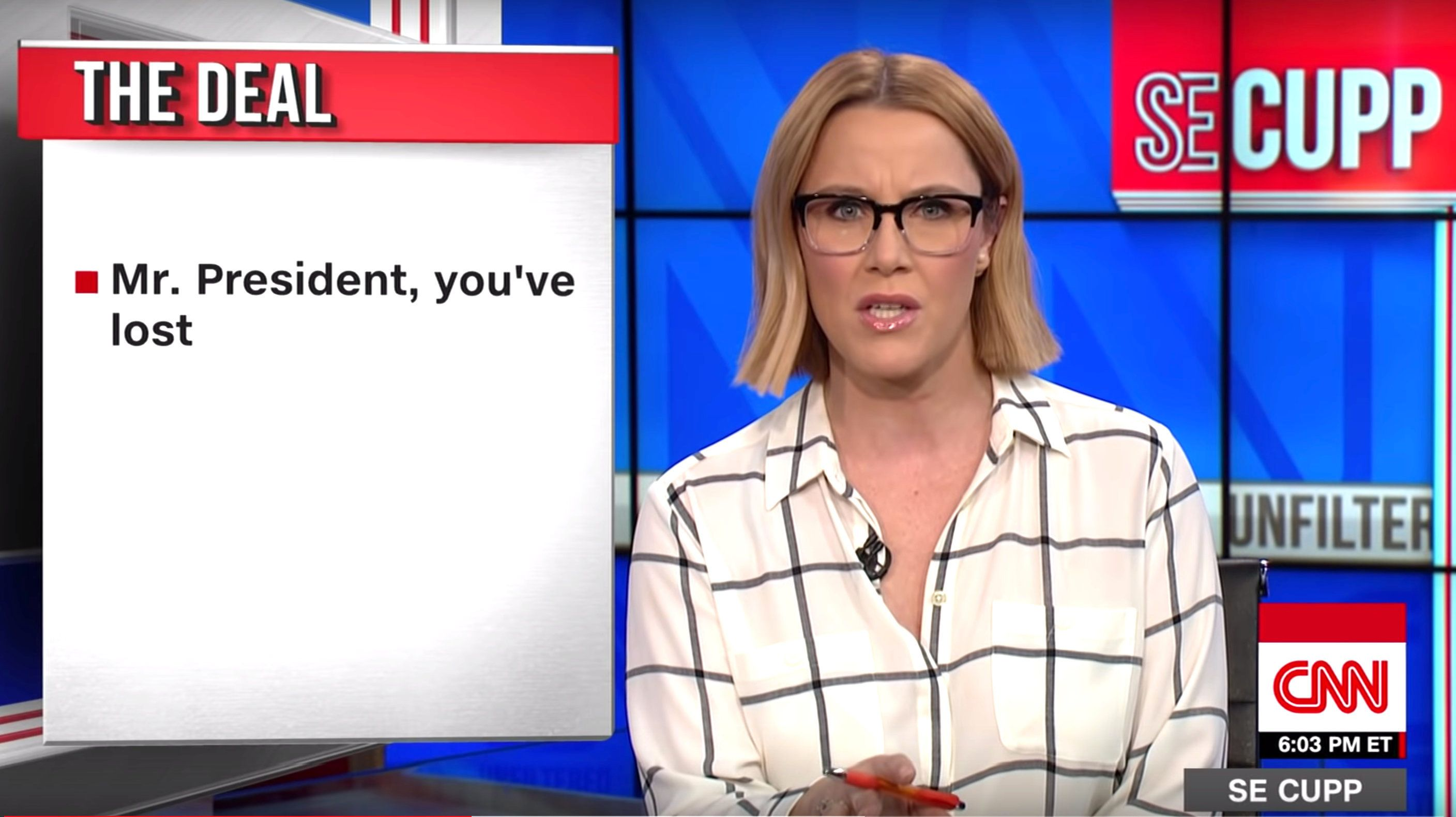 Westlake Legal Group 5c3af6cd24000066009f98f0 Conservative S.E. Cupp Tells Trump To Give Up: 'This Is What Losing Looks Like'
