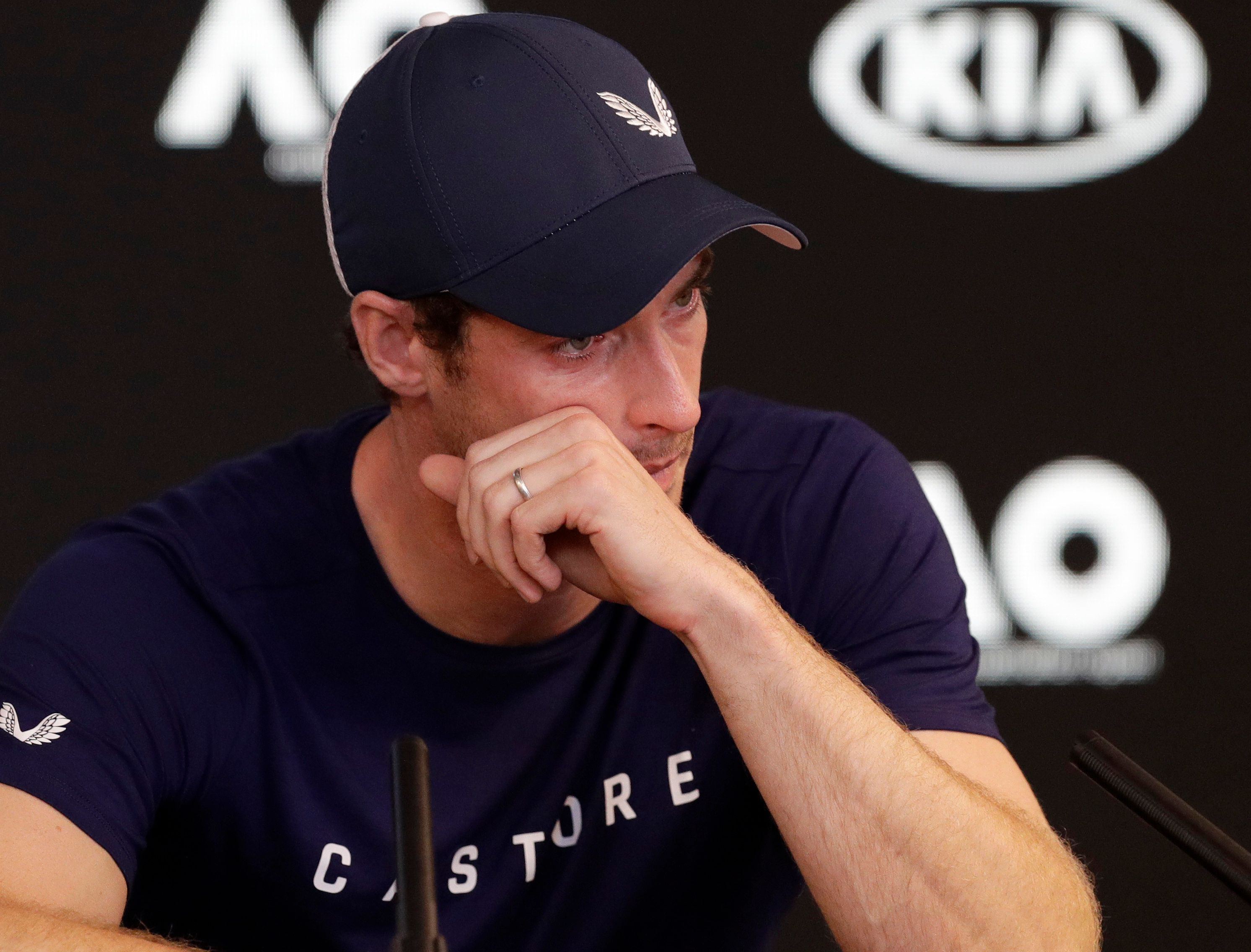 Andy Murray's agony: 'It's so sore I even hate walking the dogs'