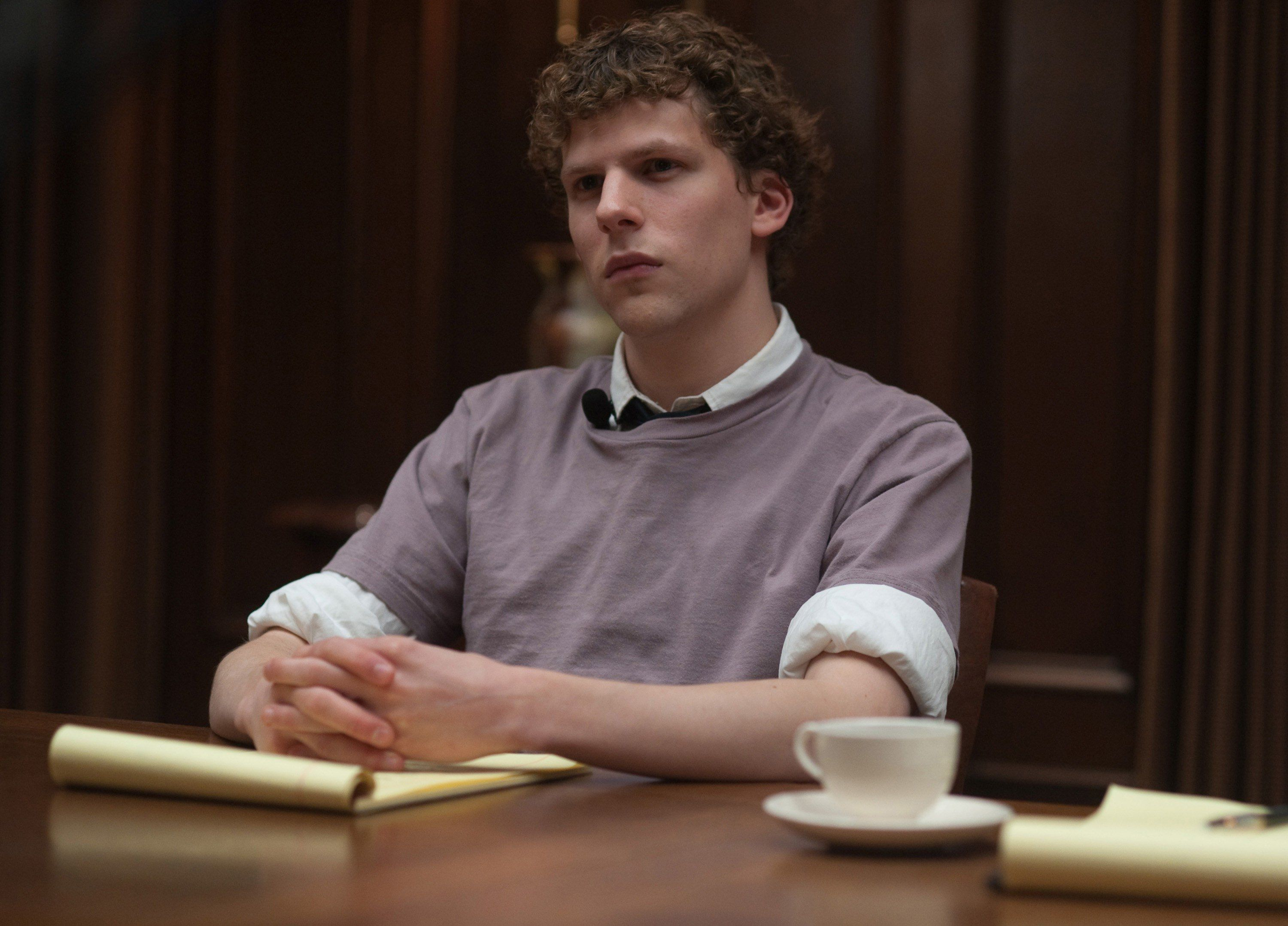 Jesse Eisenberg as Mark