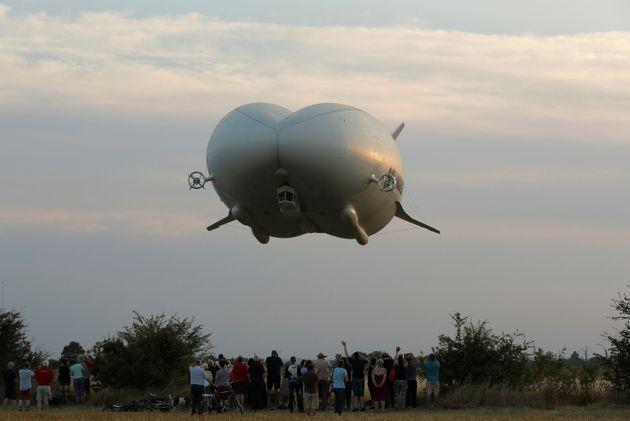 Airlander 10: Το μεγαλύτερο αεροσκάφος του κόσμου δεν θα πετάξει