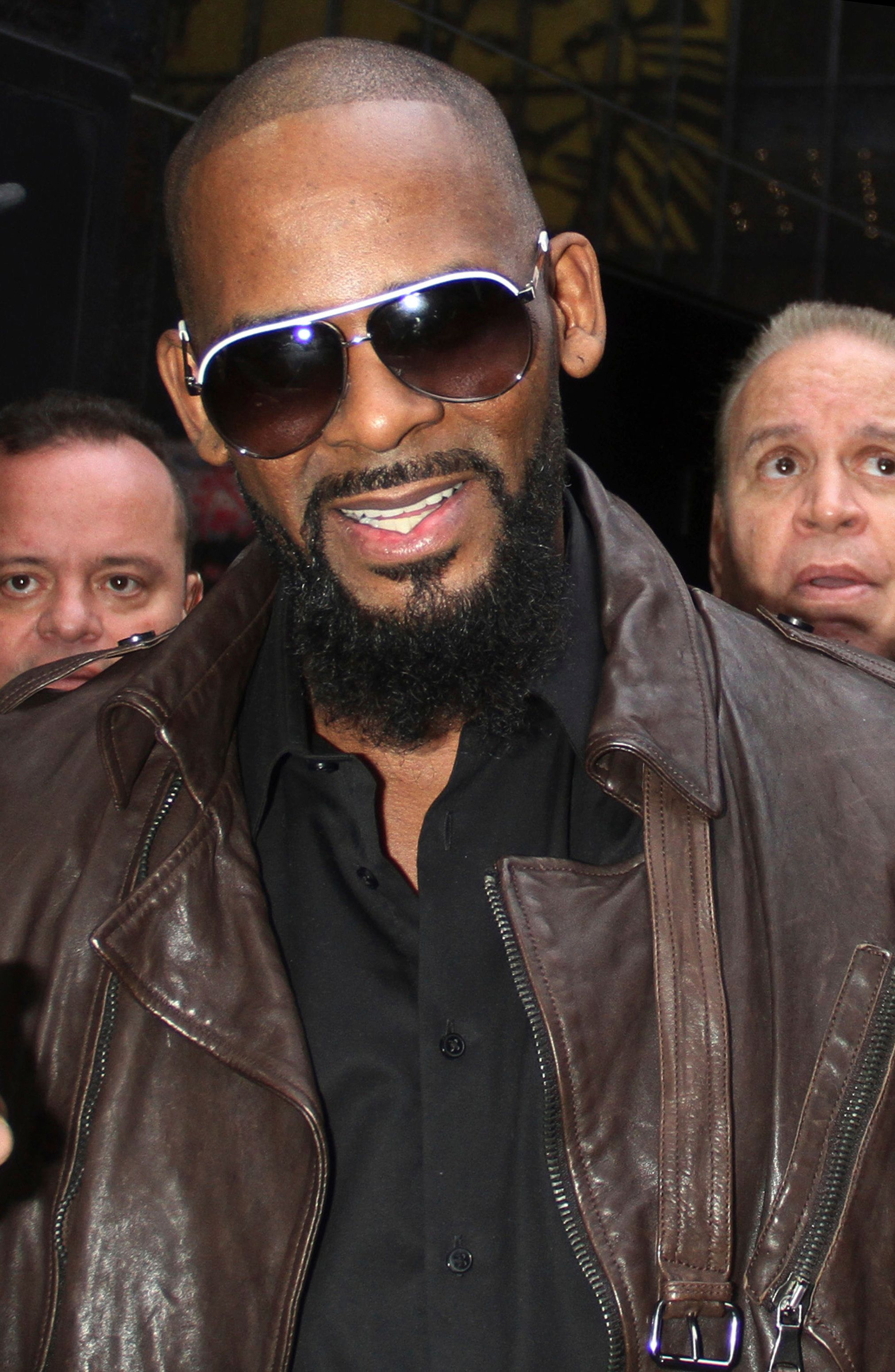 NEW YORK, NY - DECEMBER 21: R. Kelly at ABC's Good Morning America in New York City on December 21, 2015. Credit: RW/MediaPunch /IPX
