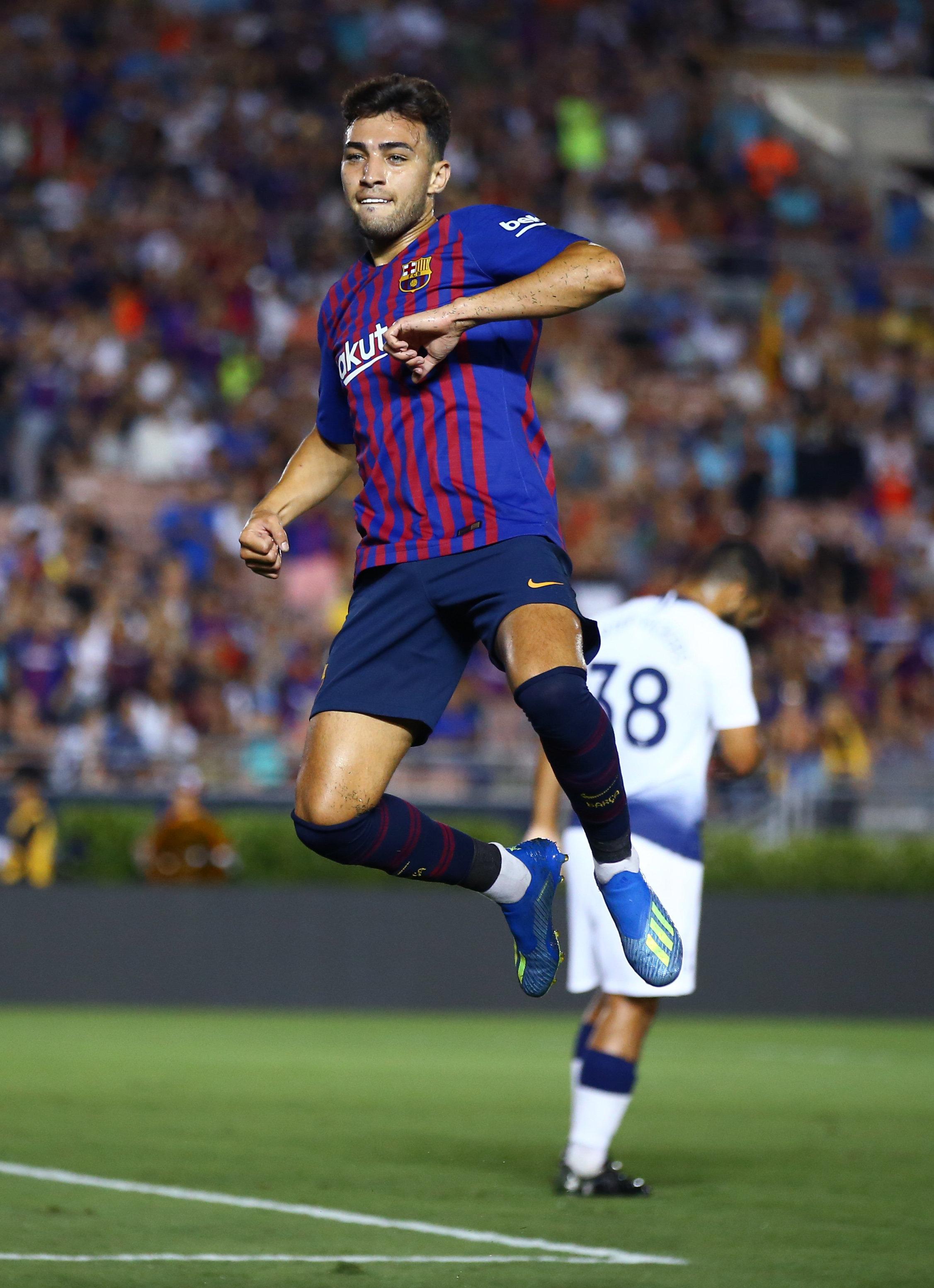 Football: Munir El Haddadi quitte Barcelone pour