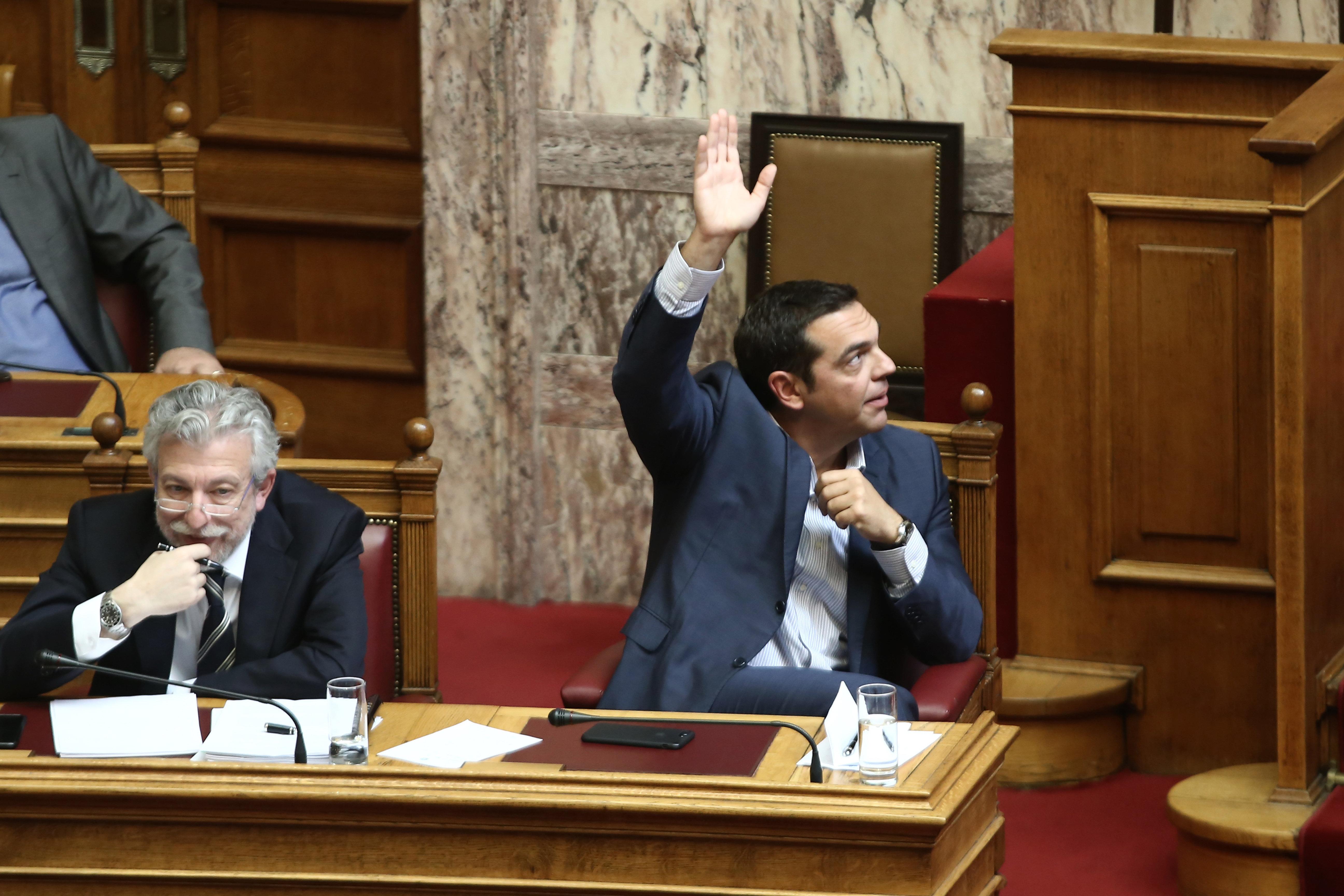 Γιατί θέλει ο Τσίπρας την ψήφο εμπιστοσύνης - Τι απαιτεί η κύρωση της Συμφωνίας των