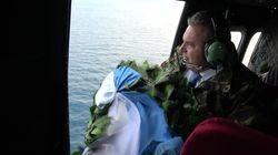 «Τελική πράξη»: Πτήση στα Ίμια και ρίψη στεφανιού από τον Πάνο
