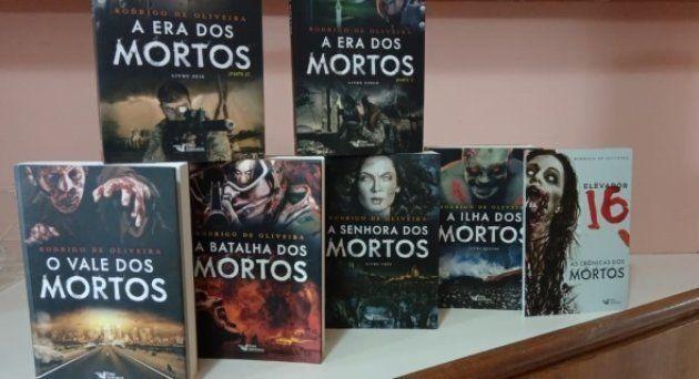 Saga As Crônicas dos Mortos é formada por 6 livros e um spin off.
