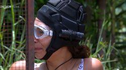 Gisele soll zur Dschungelprüfung antreten– und weint schon, als ihre Füße Wasser