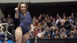 Gymnast's Flawless Michael Jackson-Inspired Routine Is A