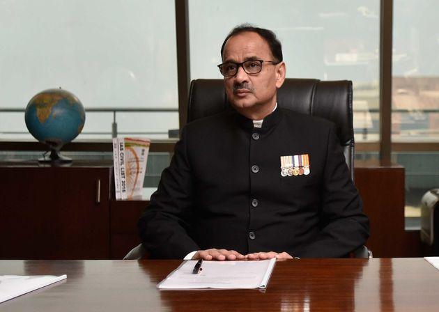 Alok Kumar in a file